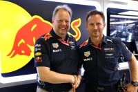 Aston Martin-CEO Andy Palmer und Red Bull Racing-Teamchef Christian Horner