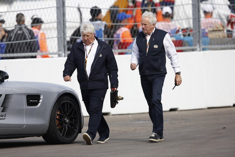 Herbie Blash und Charlie Whiting