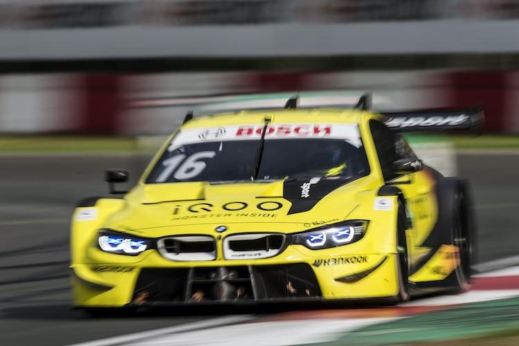 DTM: Glock beendet BMW-Negativserie, Rast im Vorteil / DTM ...