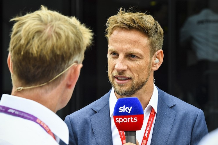 Jenson Button ist zurück bei Williams - als Berater ...