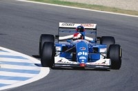 Johnny Herbert 1994 im Ligier
