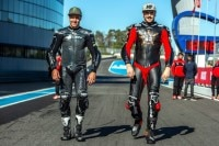 Joshua Brookes und Scott Redding (re.) testeten in Jerez