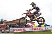 Andy Baumgartner ist der Leader der Motocross-SM MX2
