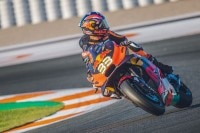 MotoGP-Rookie Brad Binder in Valencia