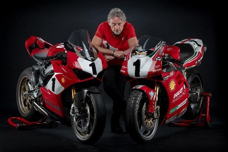 Ducati V4 im Design der 916 – Foggy ist begeistert / Superbike-WM  SPEEDWEEK.COM
