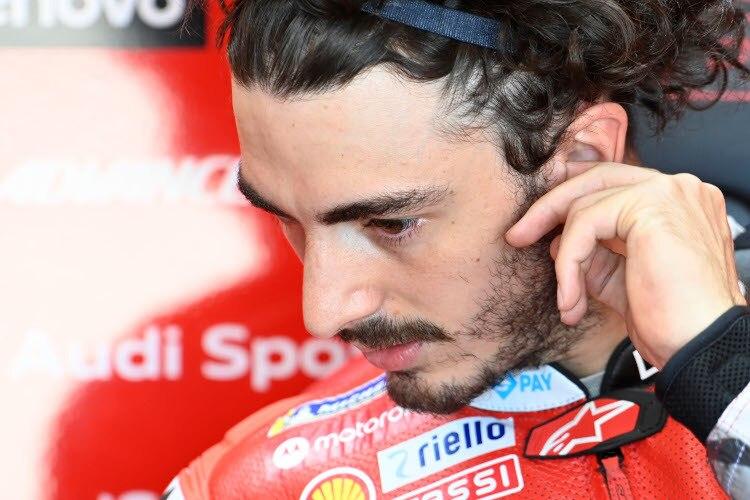 Pecco Bagnaia veut remonter sur le podium MotoGP
