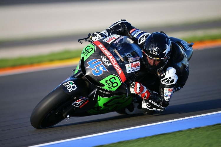 Scott Redding dem Production-Racer von Honda