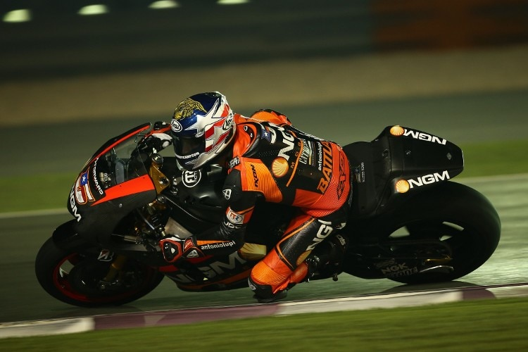 Colin Edwards auf der Forward-Yamaha