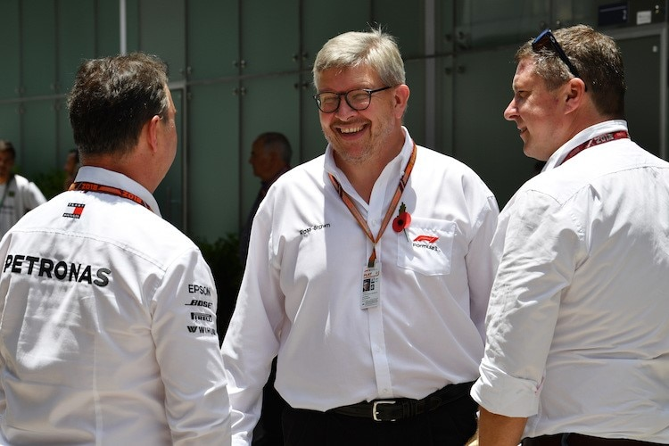 Formel-1-Sportdirektor Ross Brawn
