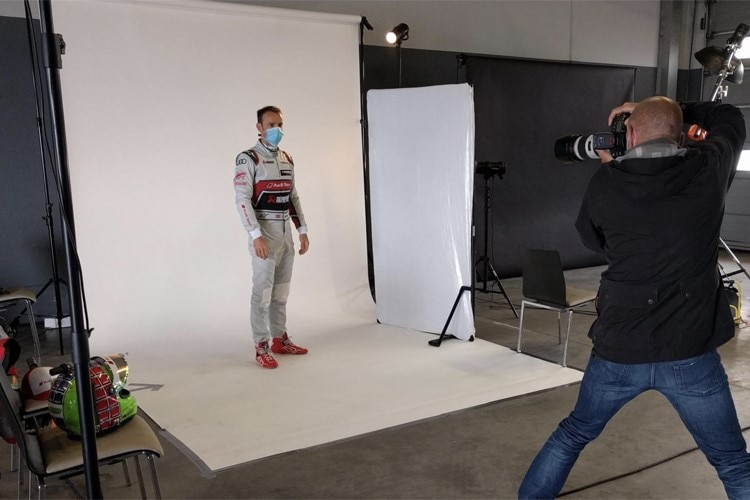 Auch das Fotoshooting läuft anders ab