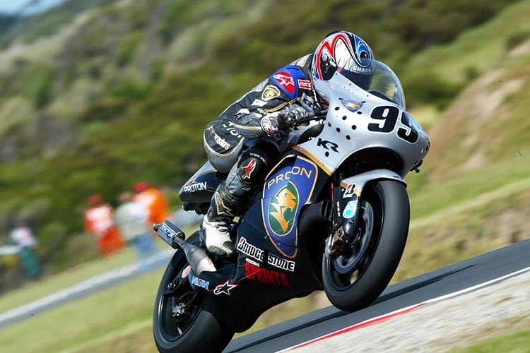 Jeremy McWilliams: 2002 Pole-Position in Australien auf der Dreizylinder-Proton