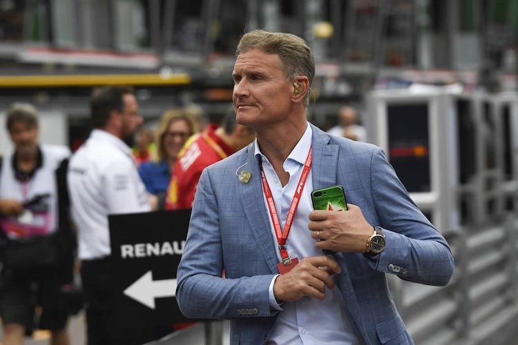 David Coulthard 2019 in Monaco