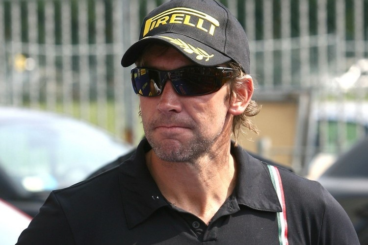 Troy Bayliss beim Superbike-Meeting in Monza