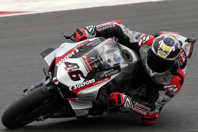 Tommy Bridewell (Ducati) ist bereits in Top-Form