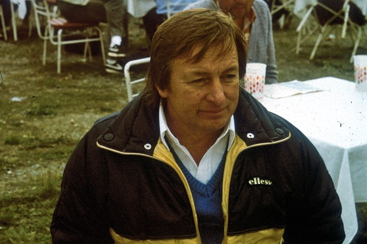 Klaus Enders 1986 in Brünn