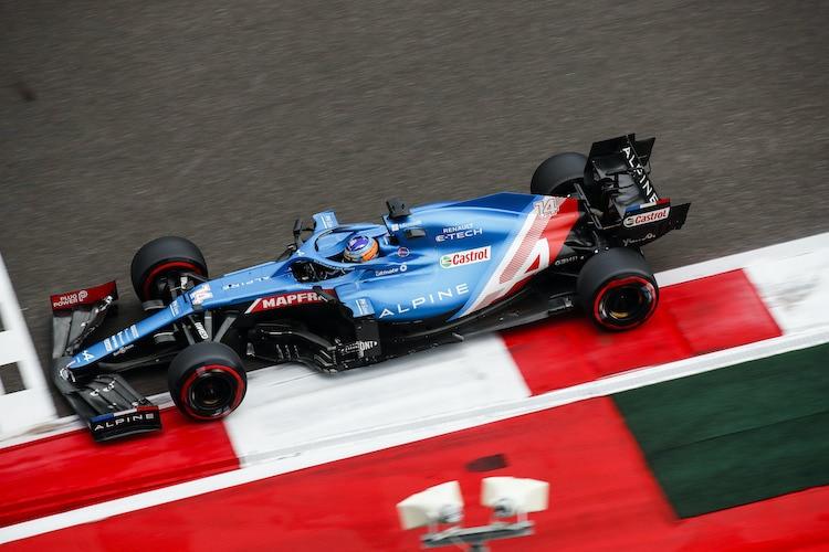 Fernando Alonso: «Verstappen wird nach vorne kommen»