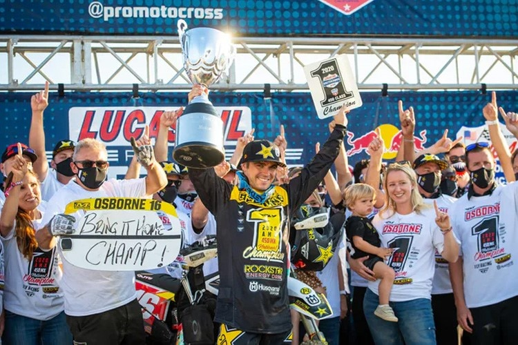 Zach Osborne ist US Motocross Champion 2020