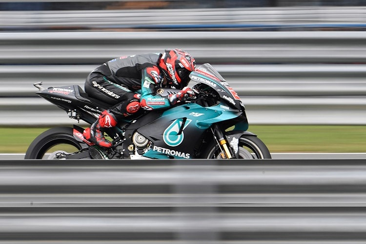 Fabio Quartararo in Buriram