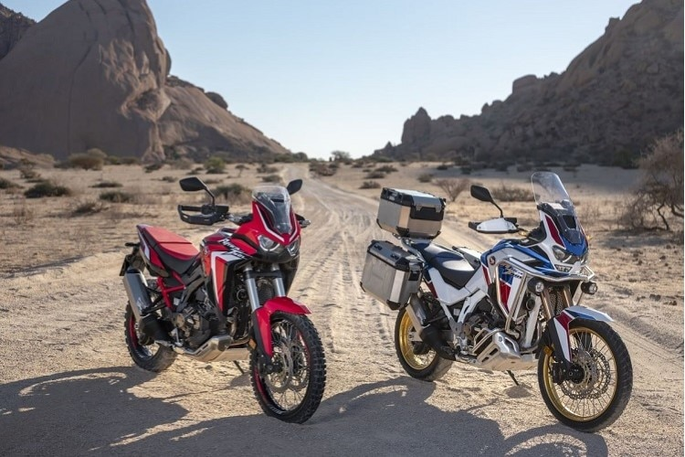 Neu auf 2020: Honda CRF1100L Africa Twin (links) und CRF1100L Africa Twin Adventure Sports