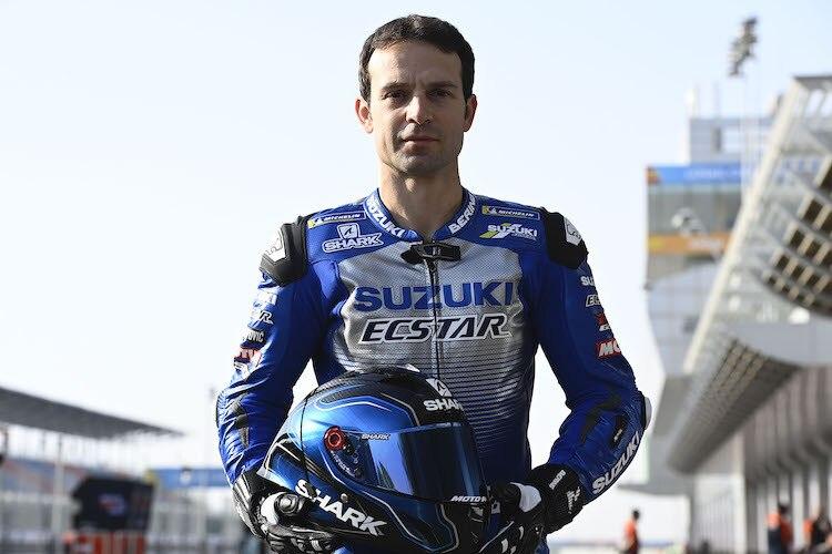 Sylvain Guintoli beim MotoGP-Test in Katar