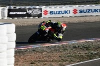 Lukas Tulovic im Januar in Almeria mit der Supersport-Honda