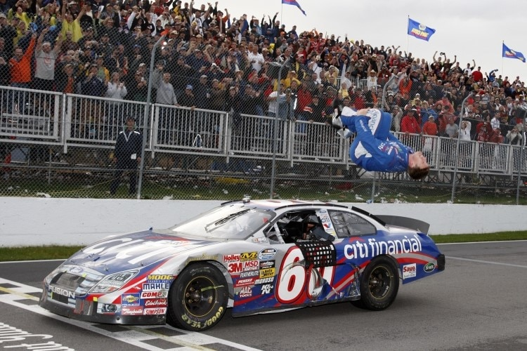 Carl Edwards in Montreal
