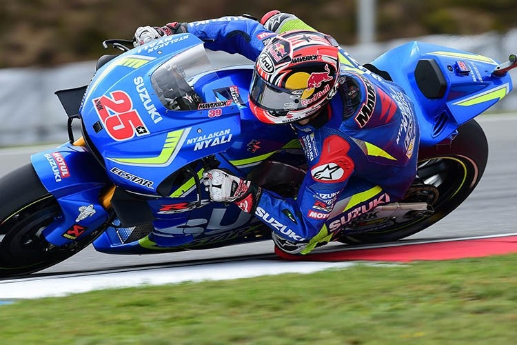 Maverick Viñales in Brünn