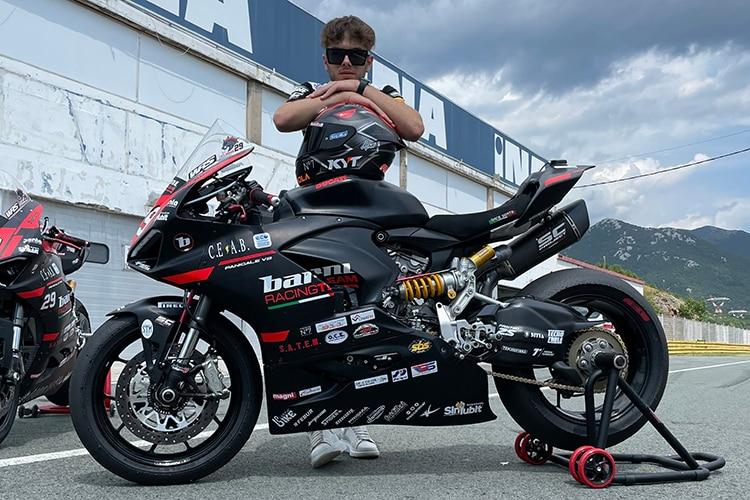 L'équipe Barni Ducati fait preuve de beaucoup d'initiative