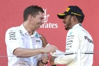 James Vowles und Lewis Hamilton