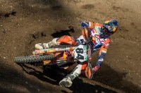 Lokalmatador Jeffrey Herlings auf KTM