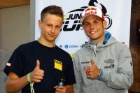 Christian Stange (links) und Sandro Cortese