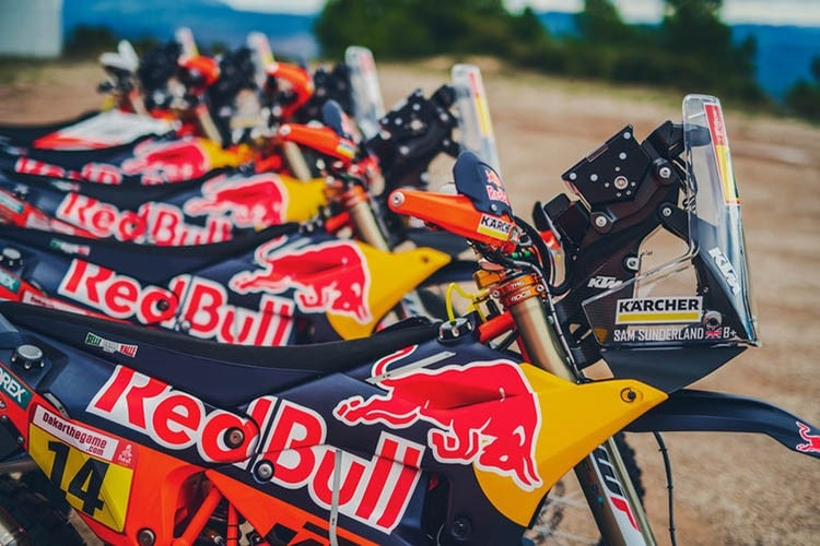Das Red Bull-KTM-Team steckt in der Favoritenrolle