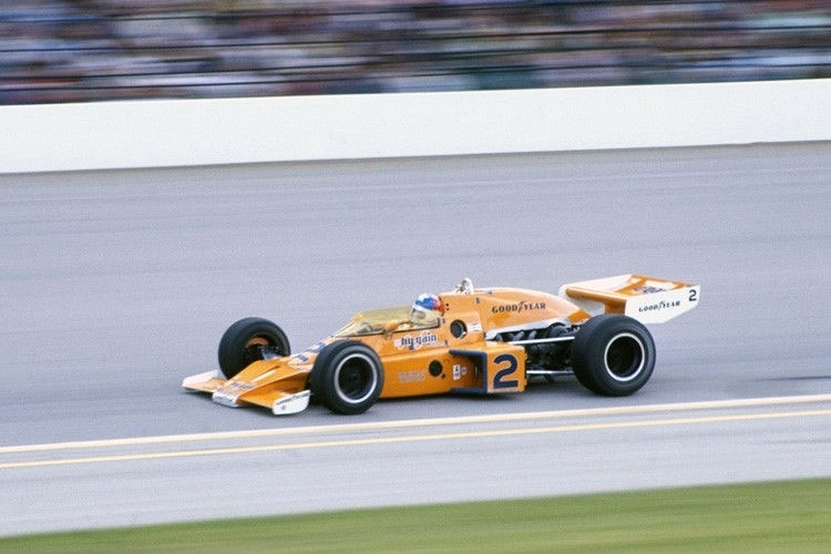 Johnny Rutherford im McLaren 1976