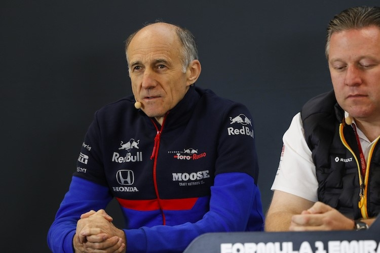Toro Rosso-Teamchef Franz Tost