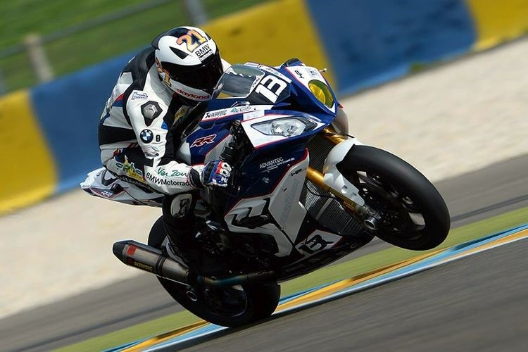 Markus Reiterberger beim Test in Le Mans