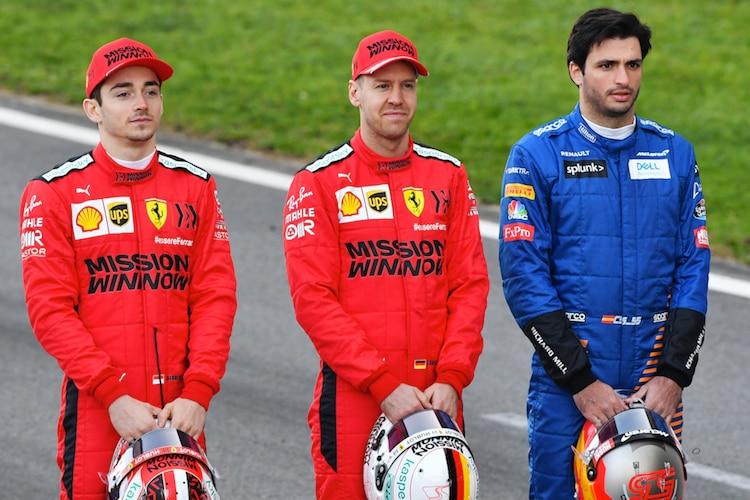 Ferrari Bestätigt Carlos Sainz Kommt Für Vettel Formel 1 Speedweek Com