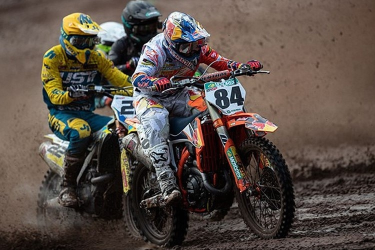 Jeffrey Herlings gewann den Frühjahrsklassiker 'Hawkstone International'