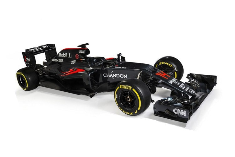 Black is beautiful: Der neue McLaren-Honda MP4-31