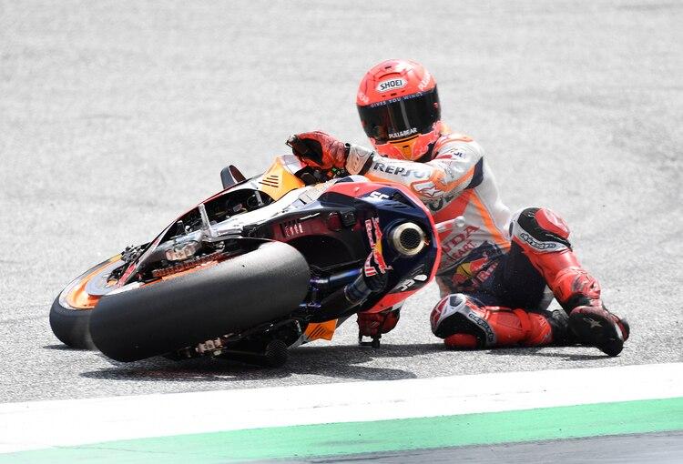 GP moto à Spielberg : Marc Márquez s'est écrasé dans le dernier tour de la Q2
