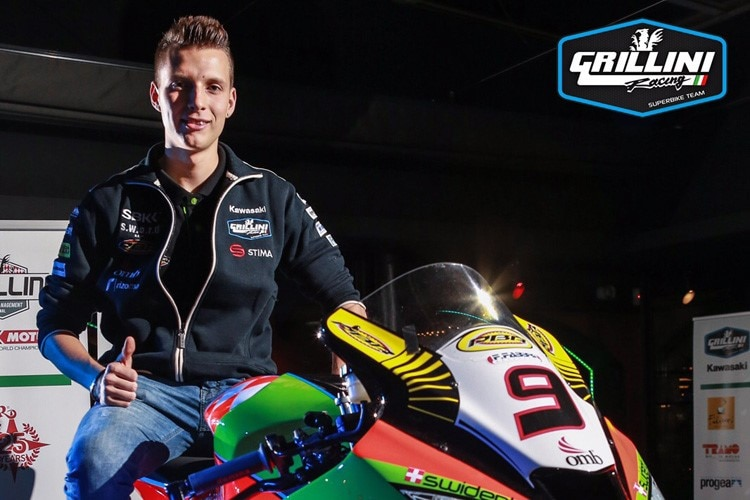 Superbike-Rookie Dominic Schmitter
