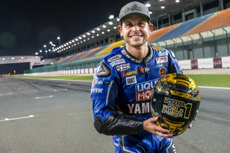 Supersport-Weltmeister Sandro Cortese