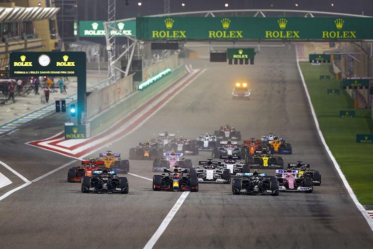 Formel 1 Bahrain Start