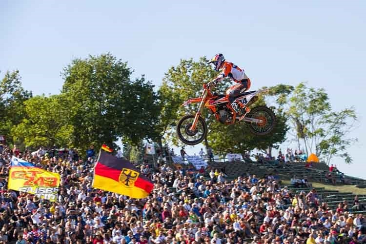 Jeff Herlings kämpft am 12. Mai in Mantua um Punkte