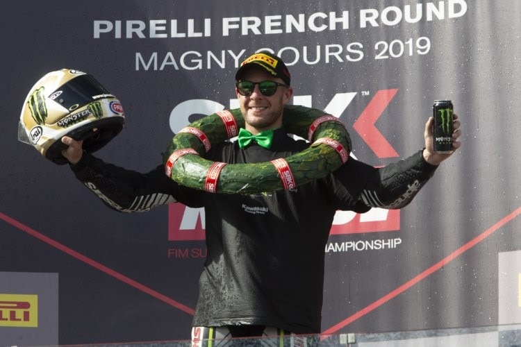 Jonathan Rea - schon in Magny-Cours Weltmeister?