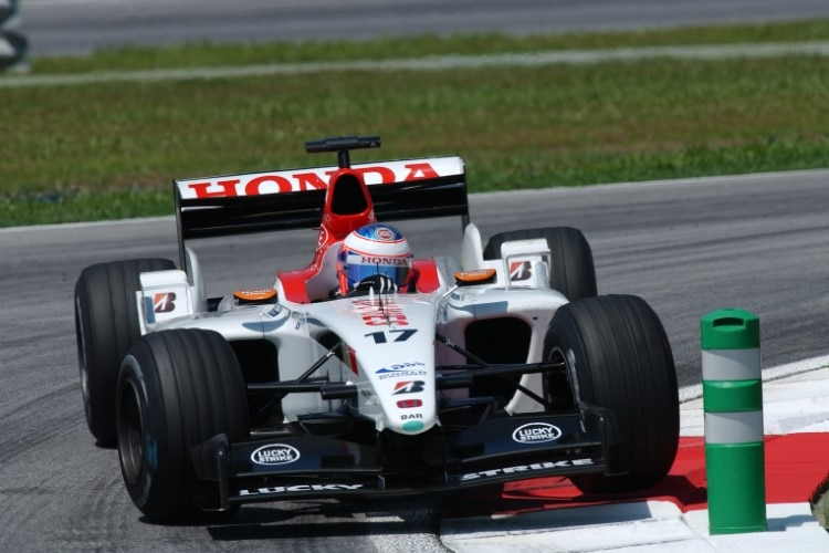 Jenson Button 2003