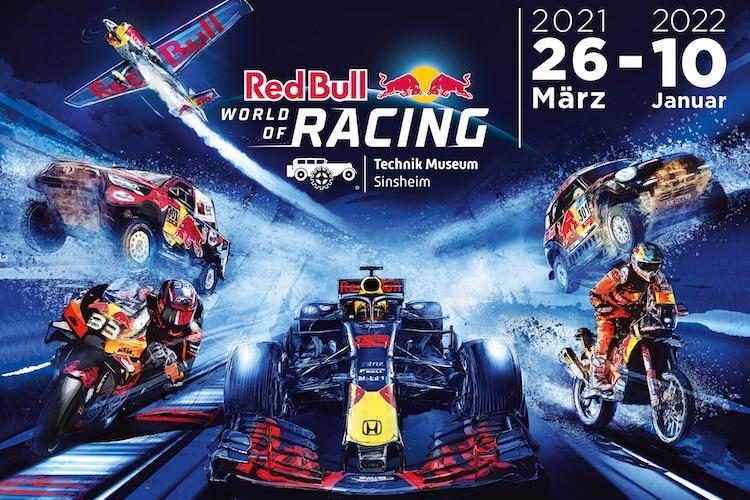 """La exposición especial """"Red Bull World of Racing"""" se puede descubrir a partir del 26 de marzo."""