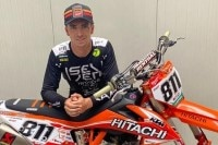 Adam Sterry startet für das Team 'Hitachi KTM fuelled by Milwaukee'