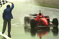 Michael Schumacher siegte in Barcelona 1996