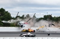 Sorge um Robert Wickens nach dem Horrorcrash