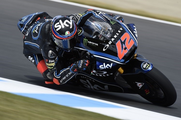 Moto2-Weltmeister 2018 mit Sky-Racing-VR46: Francesco Bagnaia
